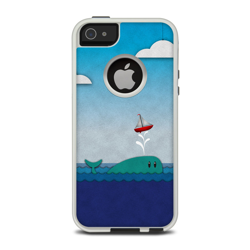 Whale Sail OtterBox Commuter iPhone 5 Skin