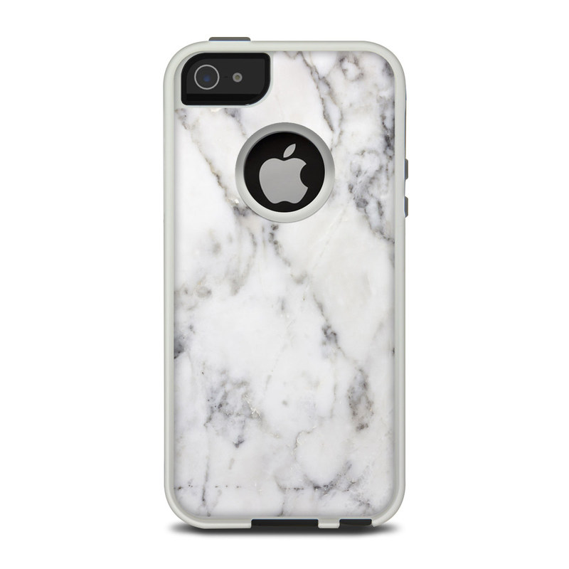 buy online 384fb 0389e White Marble OtterBox Commuter iPhone 5 Skin