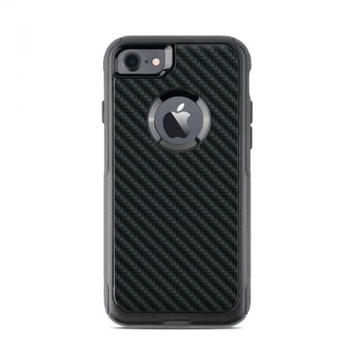 Carbon OtterBox Commuter iPhone 8 Case Skin