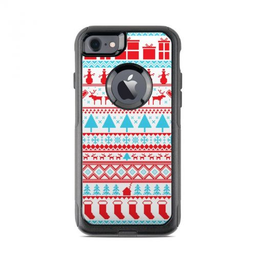 Comfy Christmas OtterBox Commuter iPhone 7 Skin