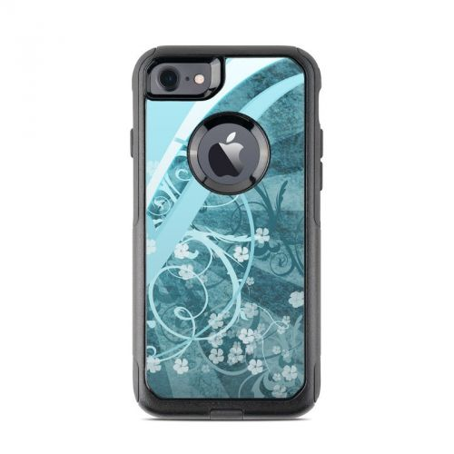 Flores Agua OtterBox Commuter iPhone 7 Skin
