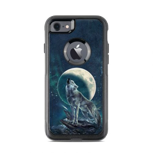 Howling Moon Soloist OtterBox Commuter iPhone 7 Skin