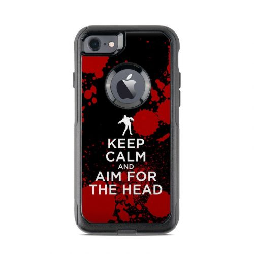 Keep Calm - Zombie OtterBox Commuter iPhone 7 Skin
