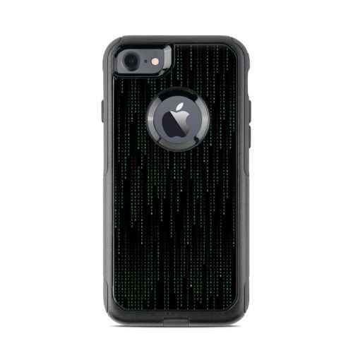 Matrix Style Code OtterBox Commuter iPhone 7 Skin