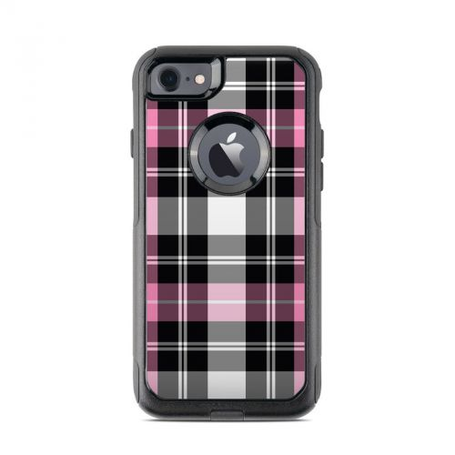 Pink Plaid OtterBox Commuter iPhone 7 Skin