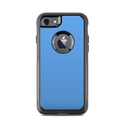 Solid State Blue OtterBox Commuter iPhone 7 Skin
