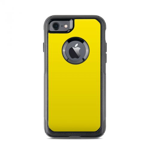 Solid State Yellow OtterBox Commuter iPhone 7 Skin