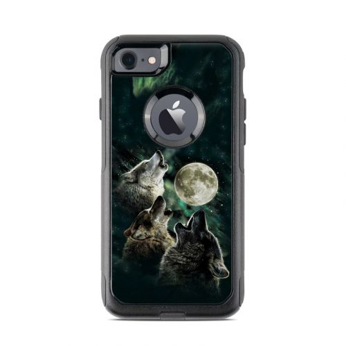 Three Wolf Moon OtterBox Commuter iPhone 8 Case Skin