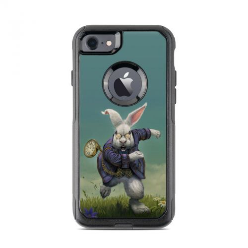 White Rabbit OtterBox Commuter iPhone 7 Skin
