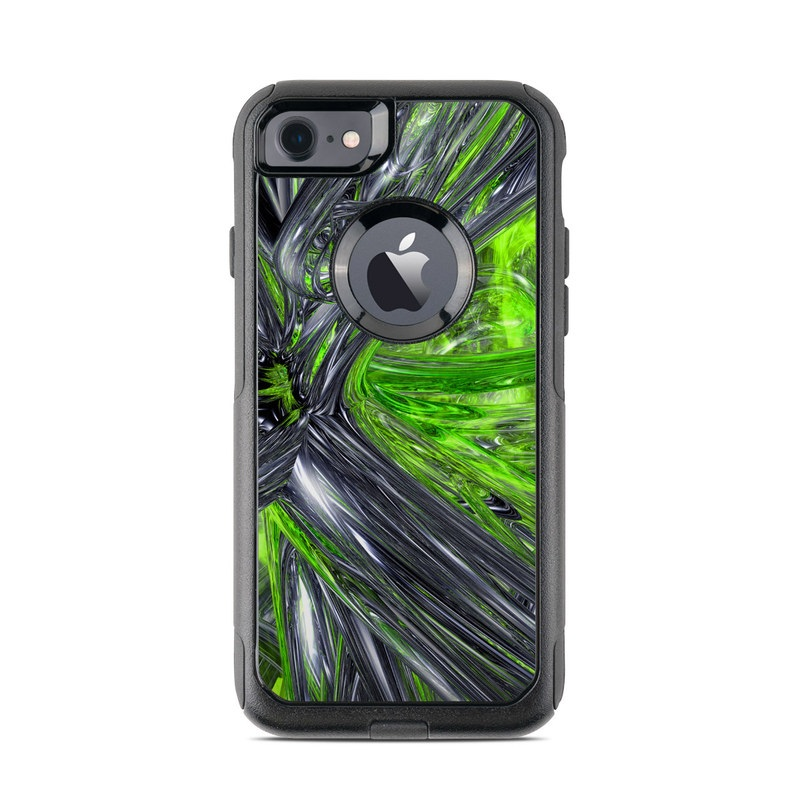 Emerald Abstract OtterBox Commuter iPhone 8 Case Skin