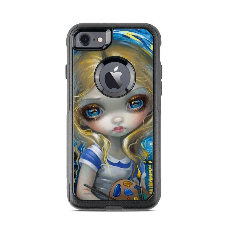 Alice in a Van Gogh OtterBox Commuter iPhone 8 Case Skin