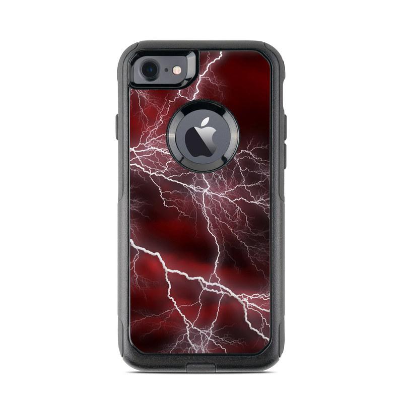 the best attitude 2b2aa 0b37c Apocalypse Red OtterBox Commuter iPhone 8 Case Skin