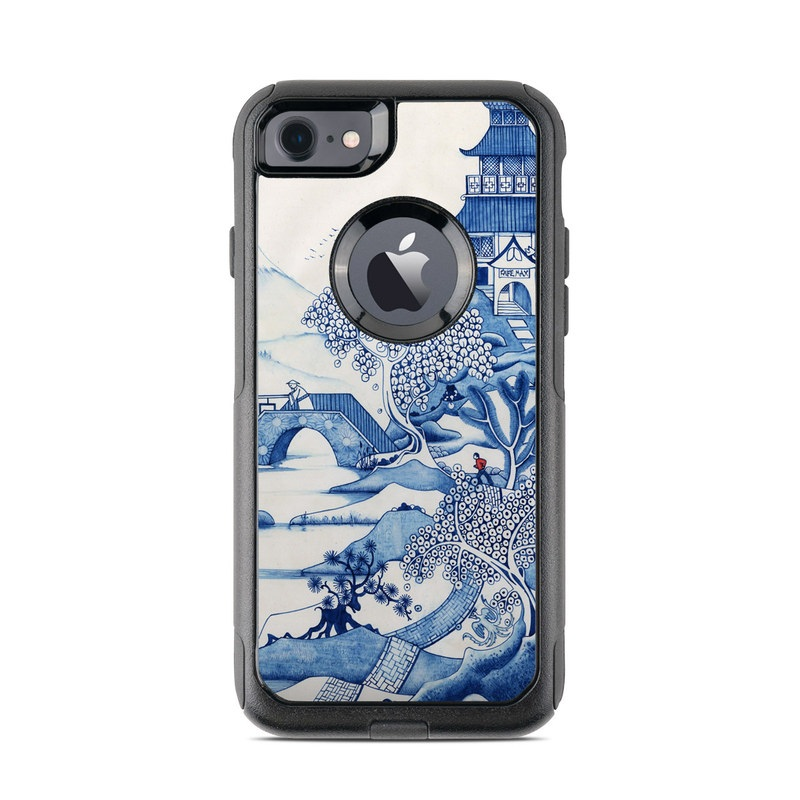 Blue Willow OtterBox Commuter iPhone 7 Skin