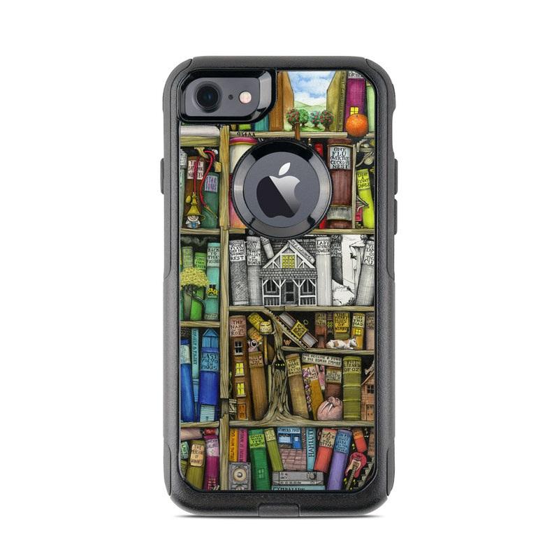 Bookshelf OtterBox Commuter iPhone 7 Skin