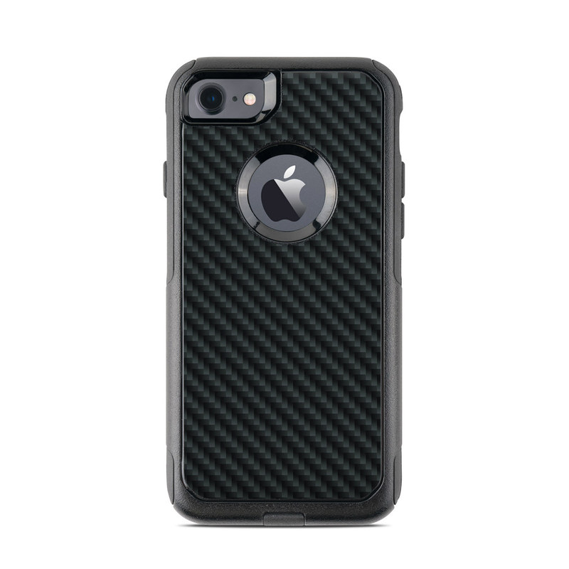 Carbon OtterBox Commuter iPhone 7 Skin