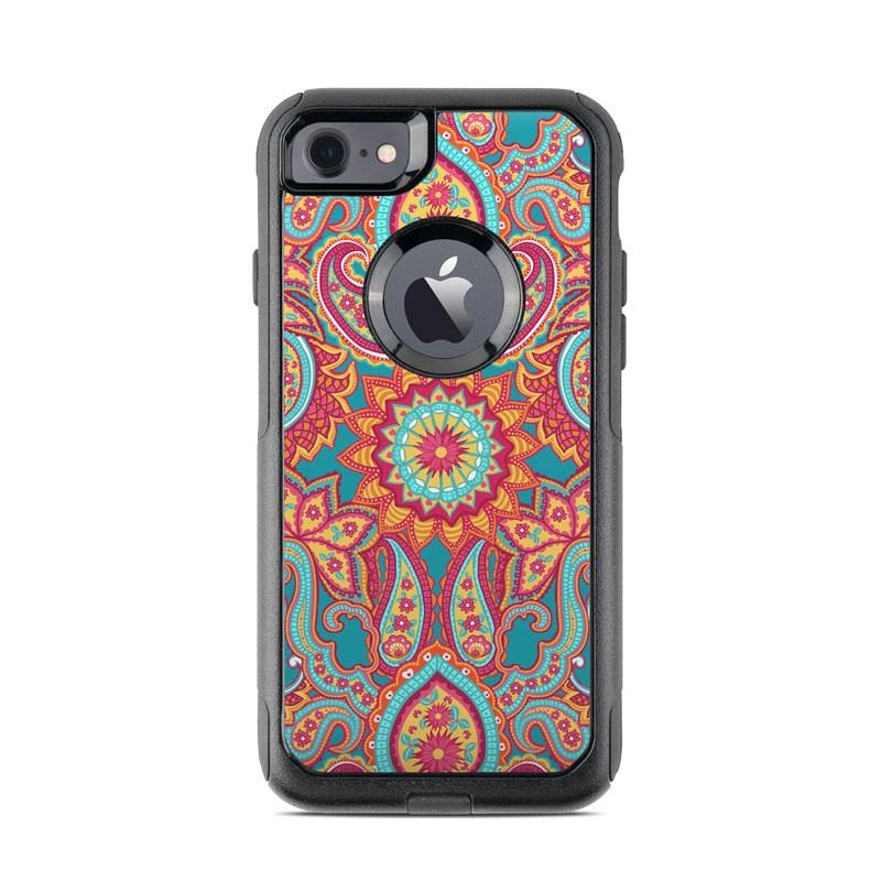Carnival Paisley OtterBox Commuter iPhone 8 Case Skin