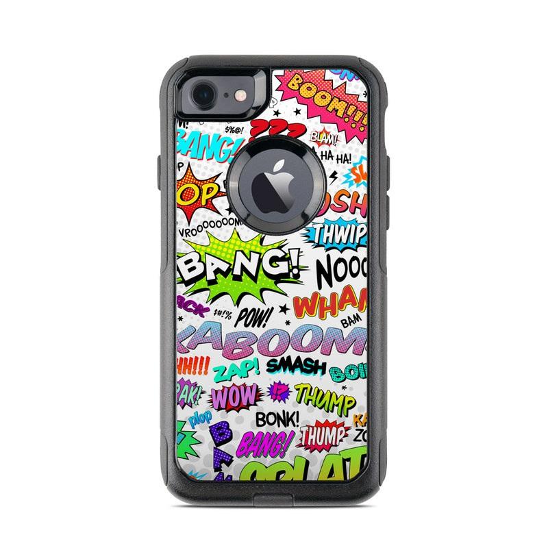 Comics OtterBox Commuter iPhone 8 Case Skin