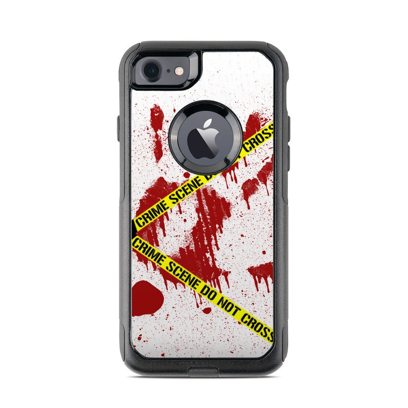Crime Scene Revisited OtterBox Commuter iPhone 7 Skin