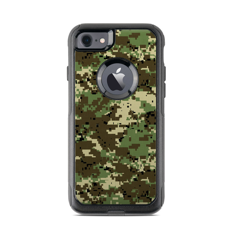 the latest d0f1d 62903 Digital Woodland Camo OtterBox Commuter iPhone 8 Case Skin