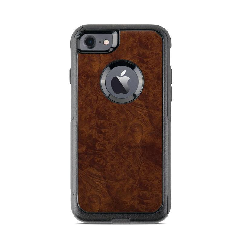 Dark Burlwood OtterBox Commuter iPhone 7 Skin
