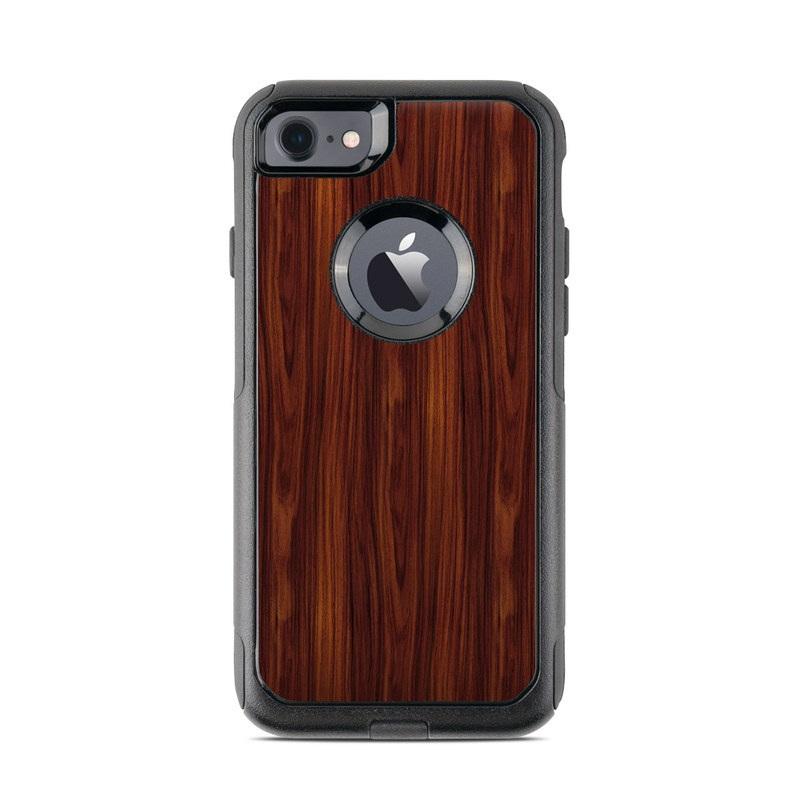 Dark Rosewood OtterBox Commuter iPhone 8 Case Skin