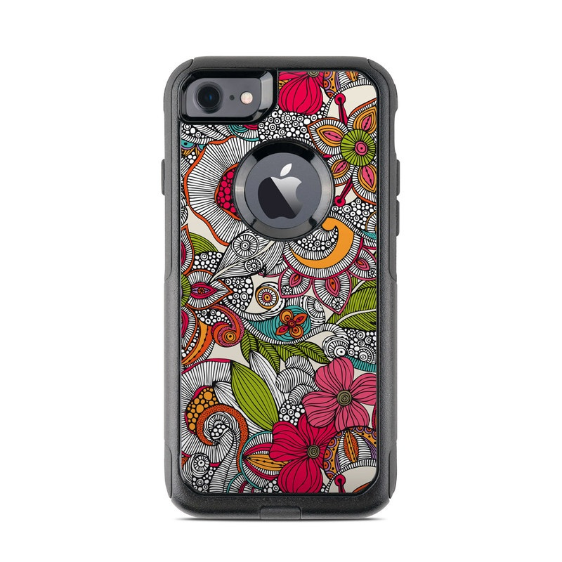 Doodles Color OtterBox Commuter iPhone 8 Case Skin