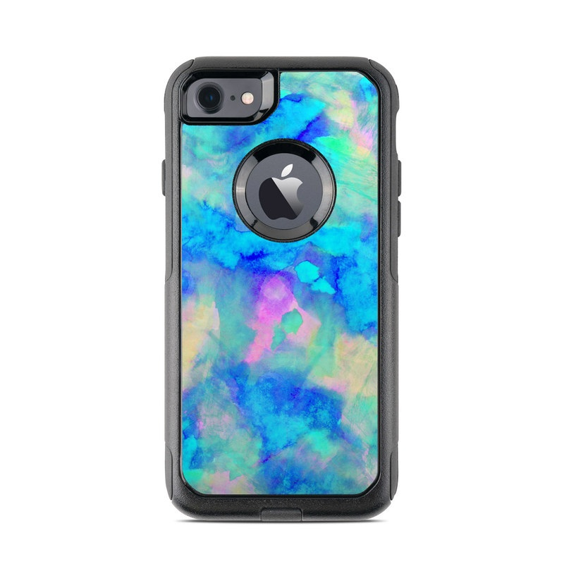 Electrify Ice Blue OtterBox Commuter iPhone 7 Skin