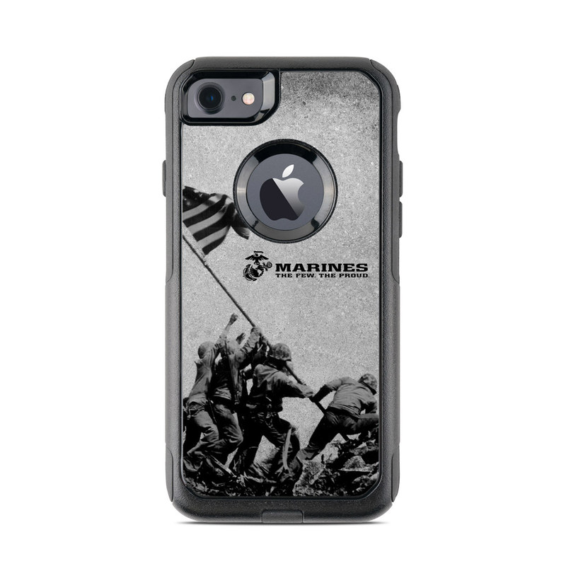 Flag Raise OtterBox Commuter iPhone 8 Case Skin