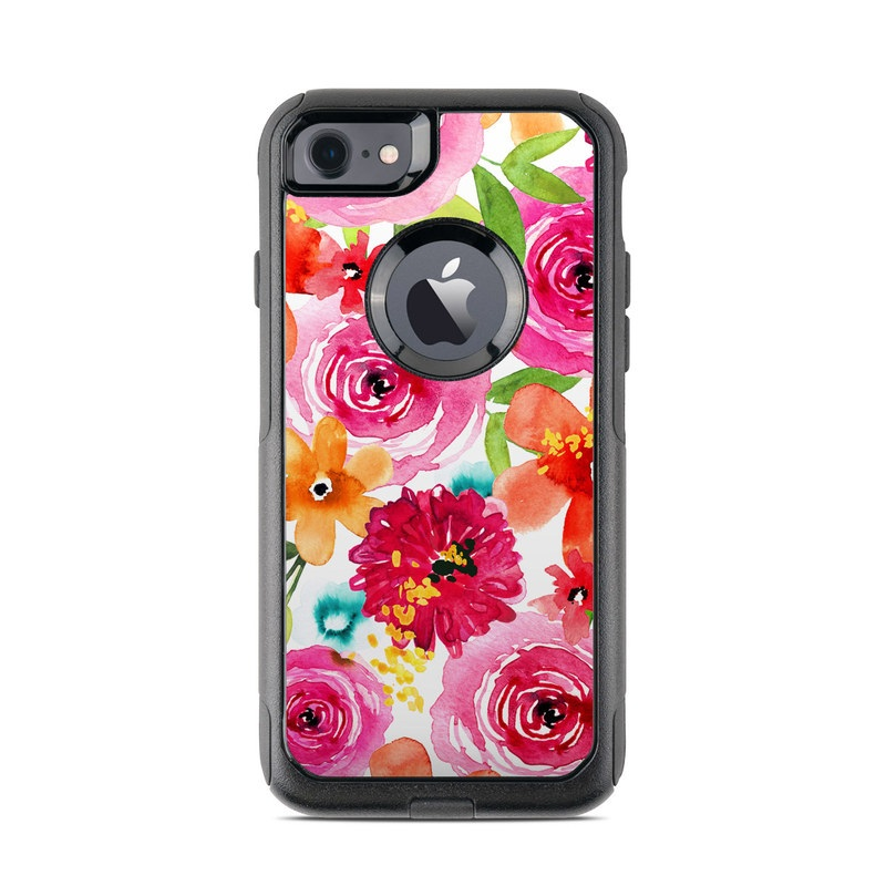 Floral Pop OtterBox Commuter iPhone 7 Skin