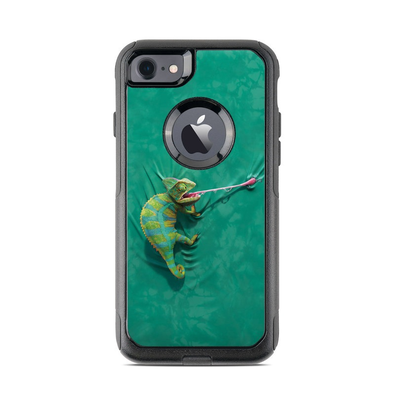 Iguana OtterBox Commuter iPhone 7 Skin