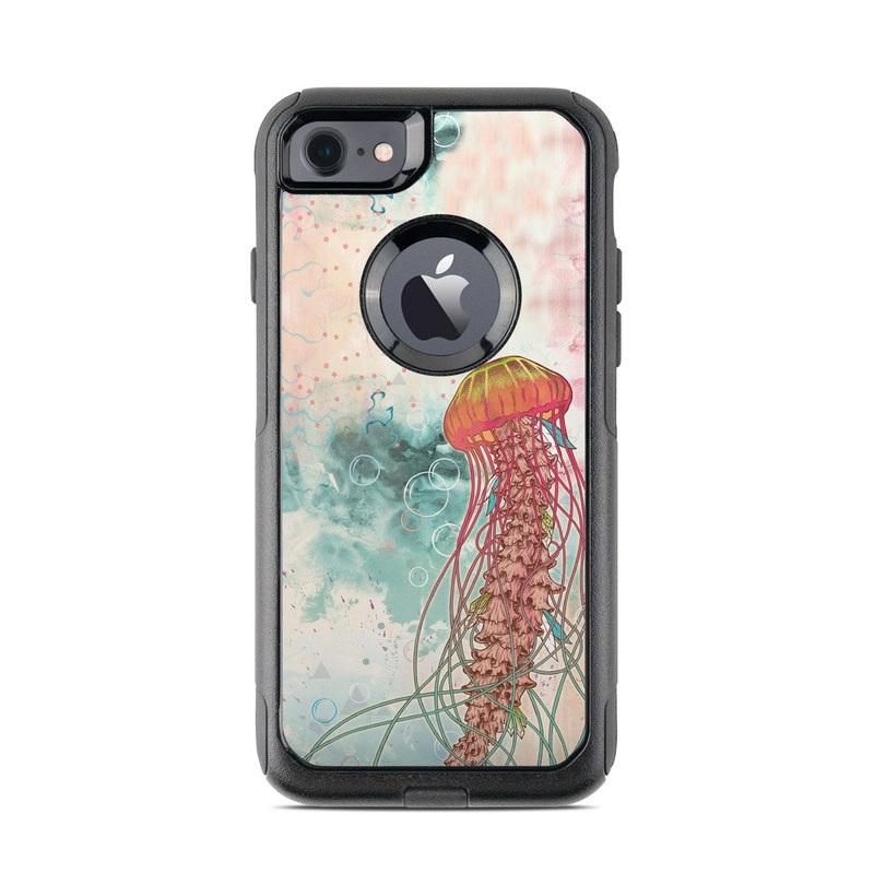 Jellyfish OtterBox Commuter iPhone 8 Case Skin
