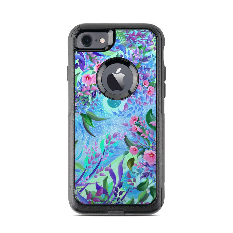 Lavender Flowers OtterBox Commuter iPhone 8 Case Skin