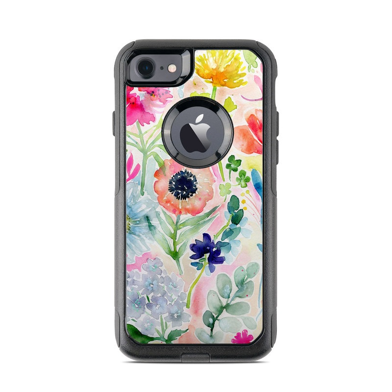 Loose Flowers OtterBox Commuter iPhone 8 Case Skin