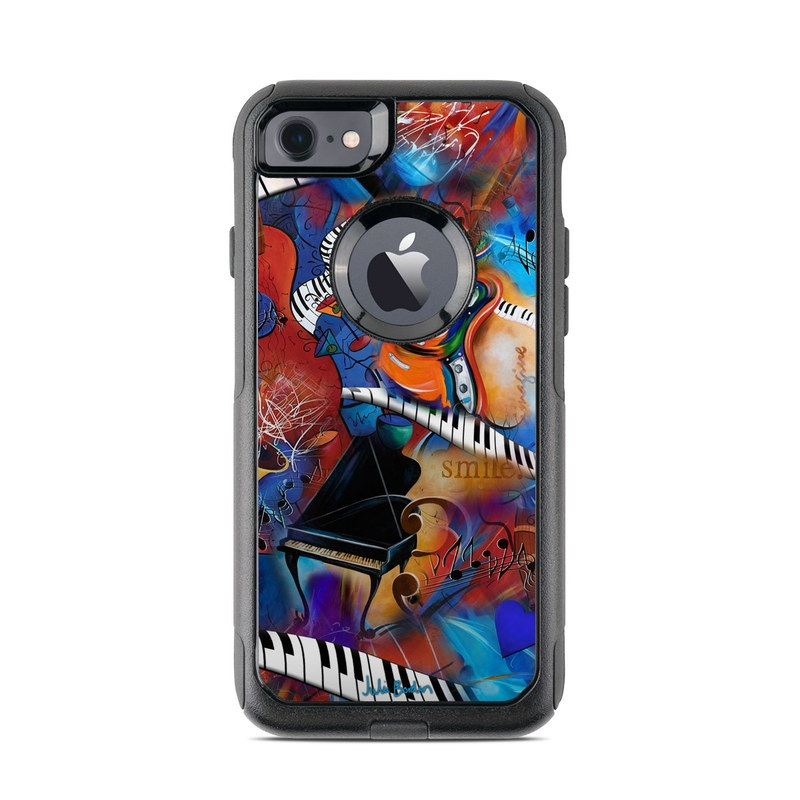 Music Madness OtterBox Commuter iPhone 8 Case Skin