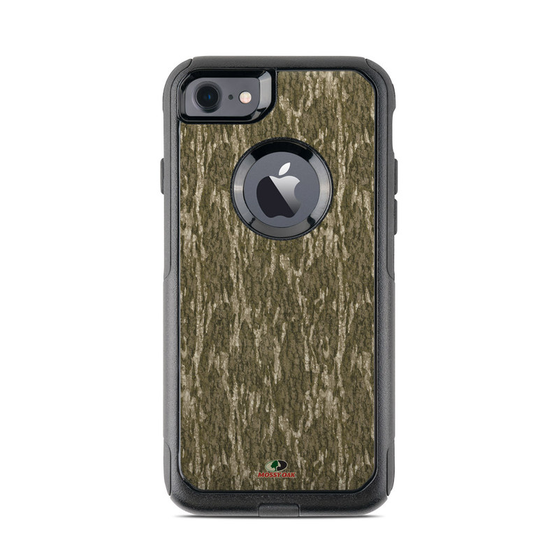 OtterBox Commuter iPhone 8 Case Skin design of Grass, Brown, Grass family, Plant, Soil with black, red, gray colors