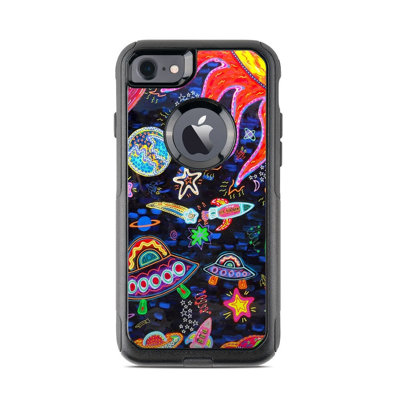 Out to Space OtterBox Commuter iPhone 8 Case Skin