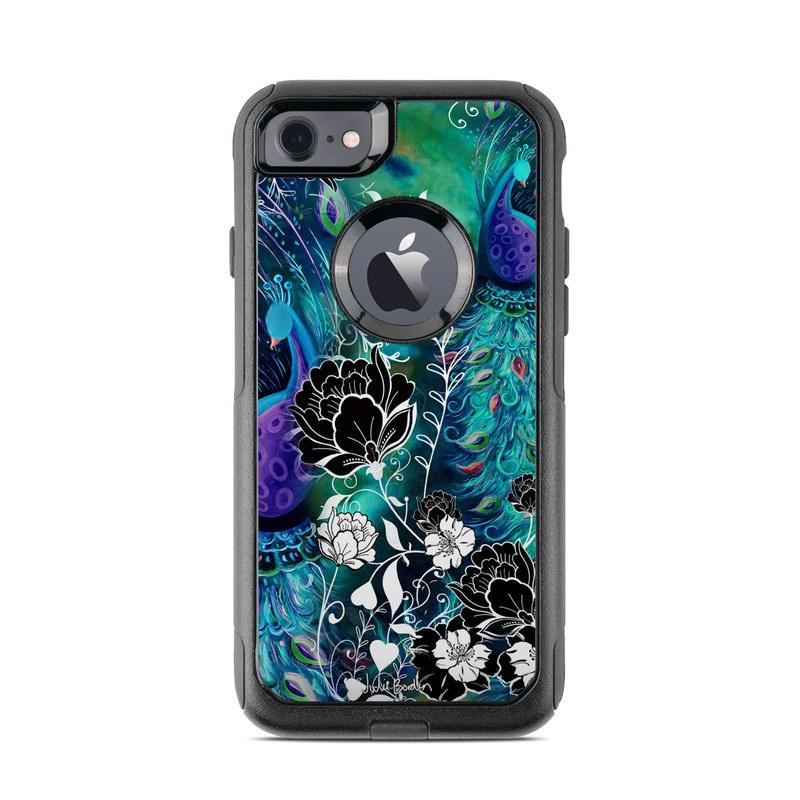 Peacock Garden OtterBox Commuter iPhone 8 Case Skin