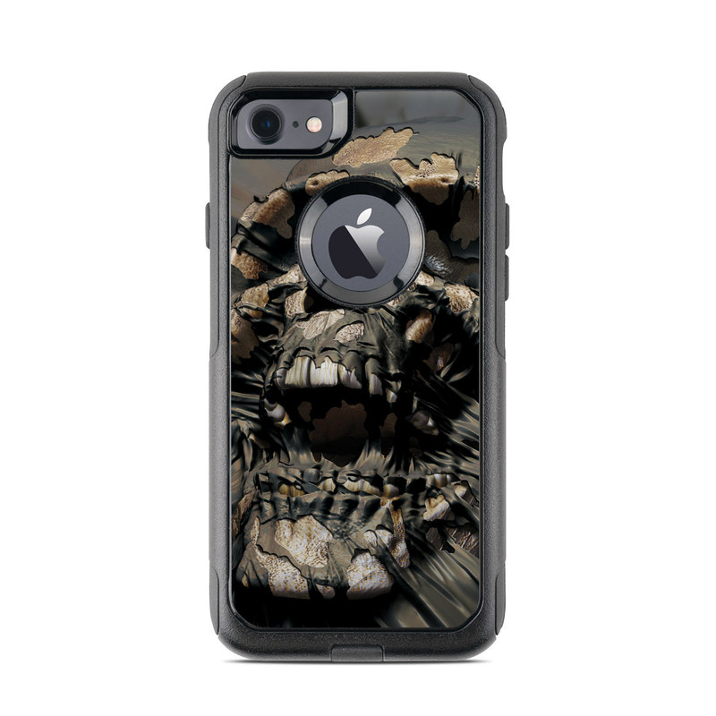 Skull Wrap OtterBox Commuter iPhone 7 Skin