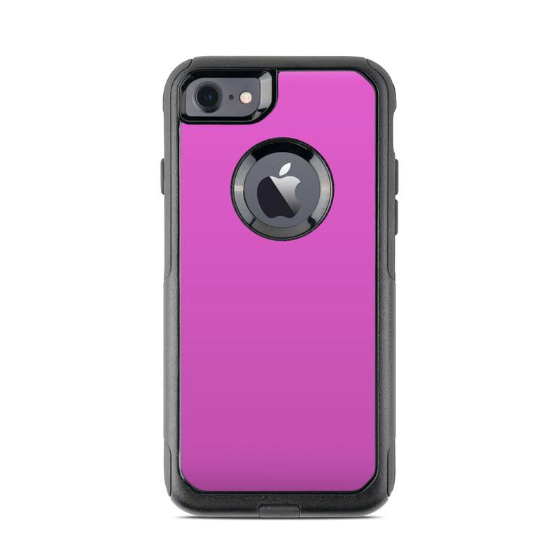OtterBox Commuter iPhone 8 Case Skin design of Violet, Pink, Purple, Red, Lilac, Magenta, Blue, Lavender, Text, Sky with pink colors