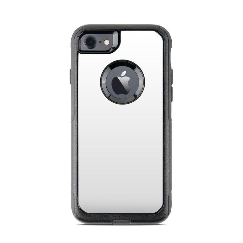 Solid State White OtterBox Commuter iPhone 8 Case Skin