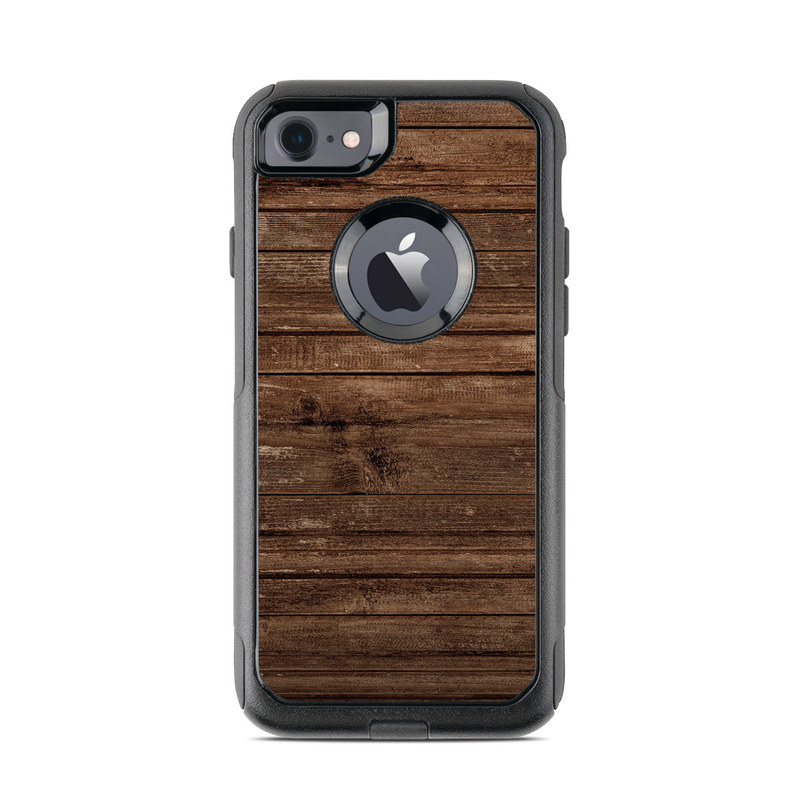 Stripped Wood OtterBox Commuter iPhone 7 Skin