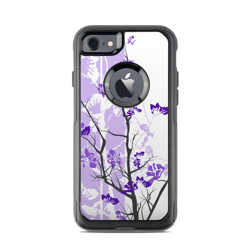 Violet Tranquility OtterBox Commuter iPhone 8 Case Skin