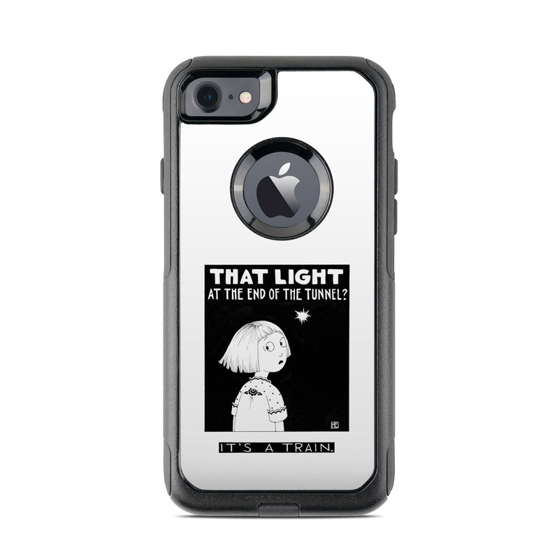 Train Tunnel OtterBox Commuter iPhone 8 Case Skin