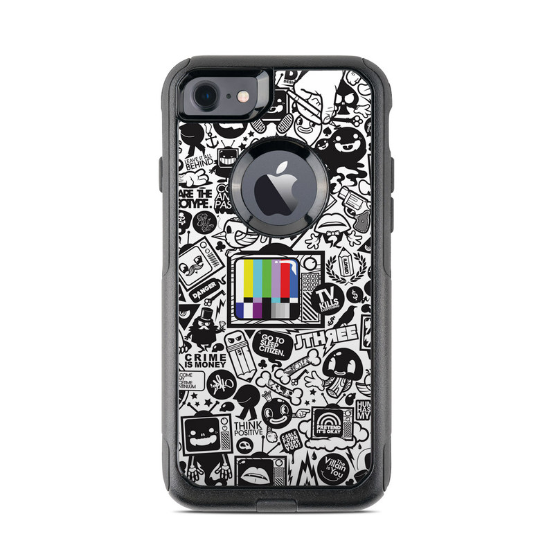 TV Kills Everything OtterBox Commuter iPhone 8 Case Skin
