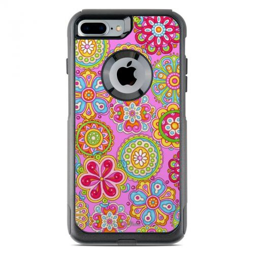 Bright Flowers OtterBox Commuter iPhone 8 Plus Case Skin