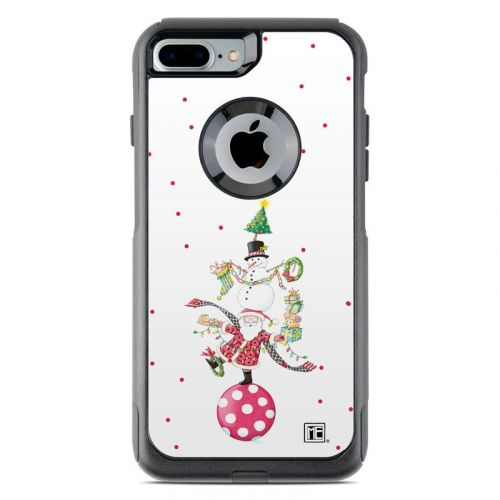 Christmas Circus OtterBox Commuter iPhone 7 Plus Skin