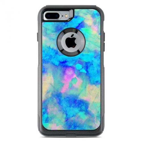 Electrify Ice Blue OtterBox Commuter iPhone 8 Plus Case Skin