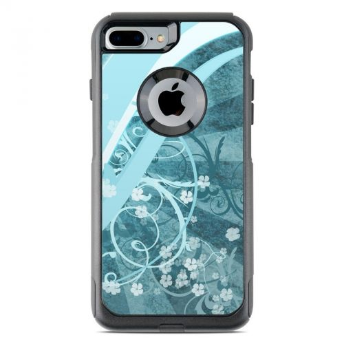 Flores Agua OtterBox Commuter iPhone 7 Plus Skin