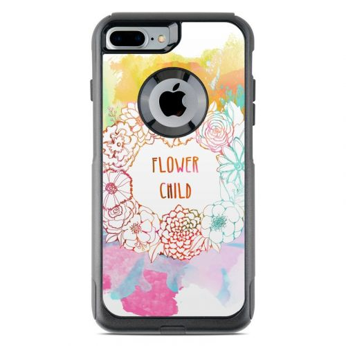 Flower Child OtterBox Commuter iPhone 8 Plus Case Skin