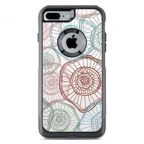 Micro Flowers OtterBox Commuter iPhone 7 Plus Skin